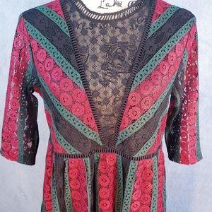 New Listing! Lace Xhilaration Babydoll Dress